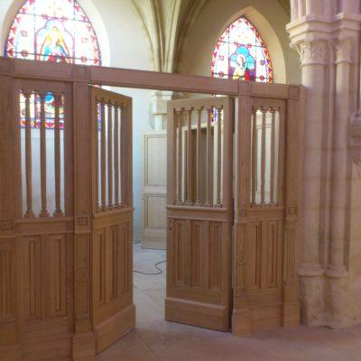 cloison église sur mesure