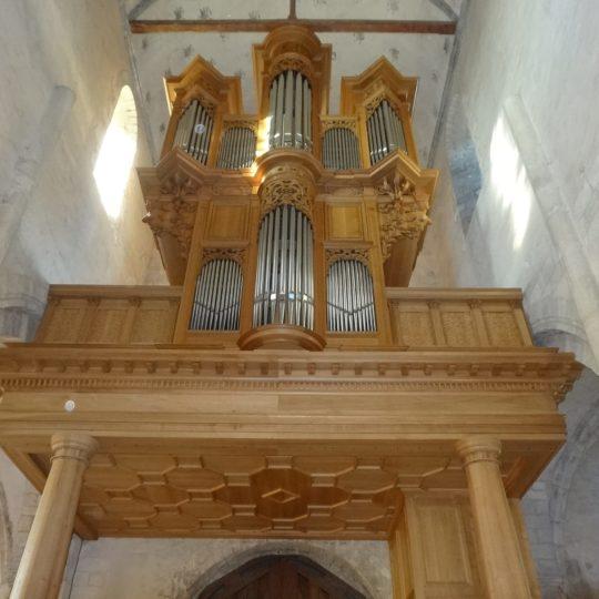 tribune orgue vue complète
