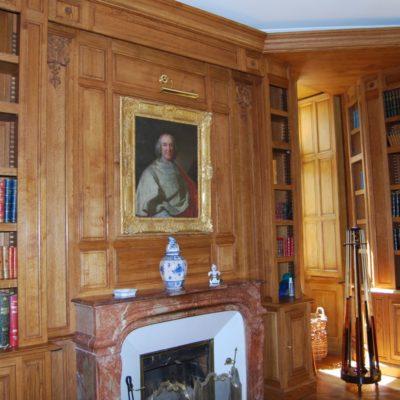 bibliotheque-style-louis-XIV-monument-historique-bichot-menuiserie
